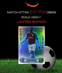 match attax extra card