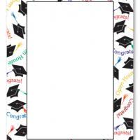 graduation page borders
