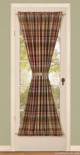 door panels curtain
