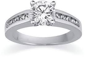 diamond channel ring