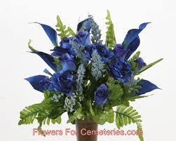 blue calla lilies