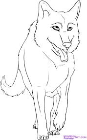 cute cartoon wolves