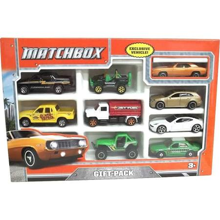 Matchbox 9-Car gift Pack (9 Car gift Pack)