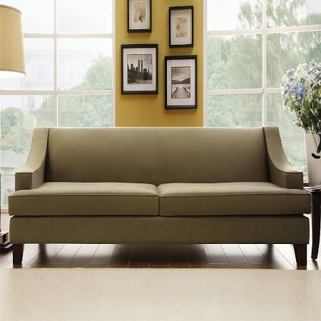 Home Interior Taupe Microfiber Sofa