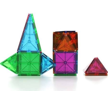 Magna-Tiles 3-D Building Set Clear Colors