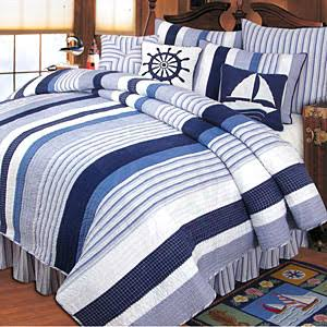 C F Nantucket Dream Twin Quilt