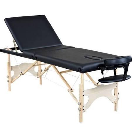 Helio Black Portable Spa Facial Bed Massage