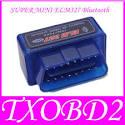 Mini ELM327 Bluetooth Interface OBD2 Scan Tool OBD Scantool Adapter fo