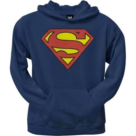Superman - Shield Hoodie - Small