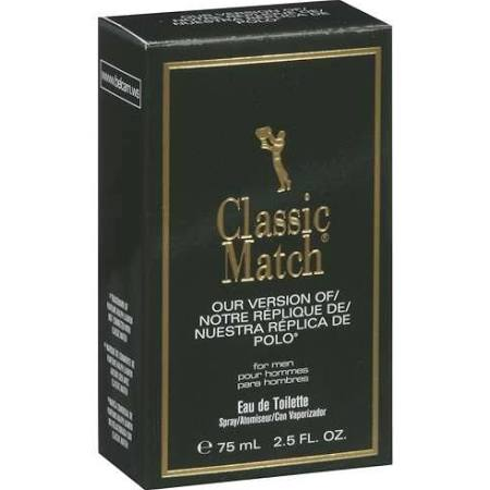 Classic Match Eau De Toilette for Men