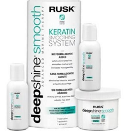 Rusk Deepshine Keratin Smoothing System
