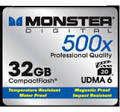 Monster Digital <b>Flash memory card</b> - <b>32 GB CompactFlash</b>