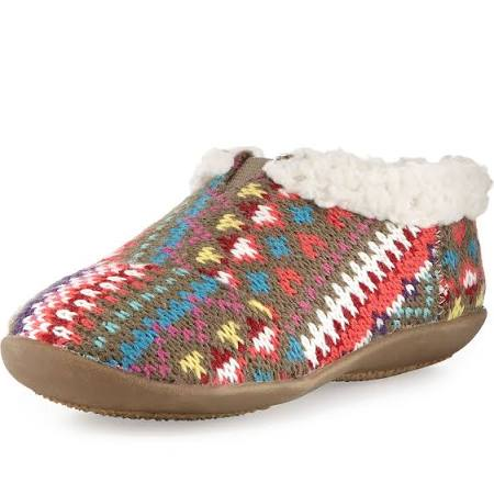 TOMS Shoes Tiny Knit Sherpa-Lined Slipper