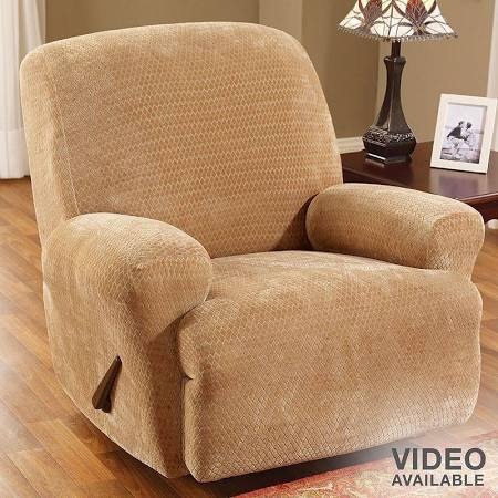 Sure Fit Royal Diamond Stretch Recliner