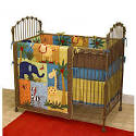 Cotton Tale Paradise 4 Piece Crib Bedding Set