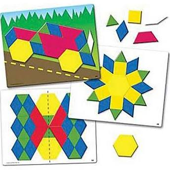 Learning Resources Magnetic Pattern Block
