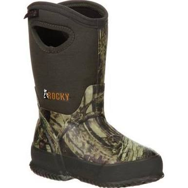 Kid's Insulated Pull-On Boots - Rocky