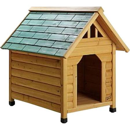 Pet Squeak Alpine Lodge Raised Wooden