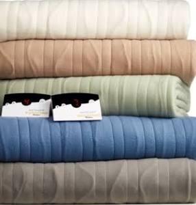 Biddeford Comfort Knit Fleece Heated Queen