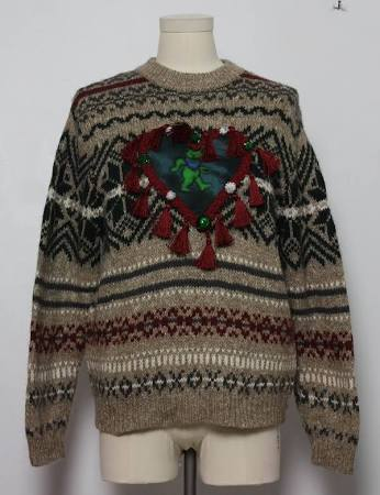 Mens Grateful Dead Ugly Christmas Sweater