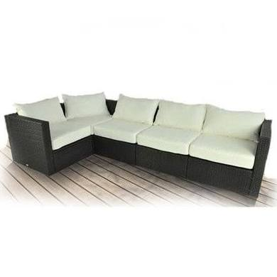 Outsunny 5pc Stylish Outdoor Pe Rattan