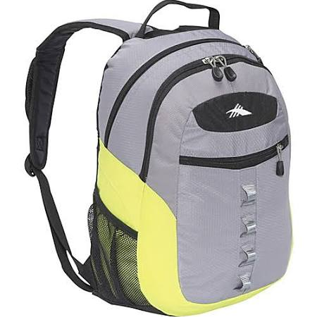 High Sierra Opie Backpack - Ash Chartreuse
