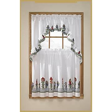 United Curtain Co. Birdhouses 3-pc. Kitchen