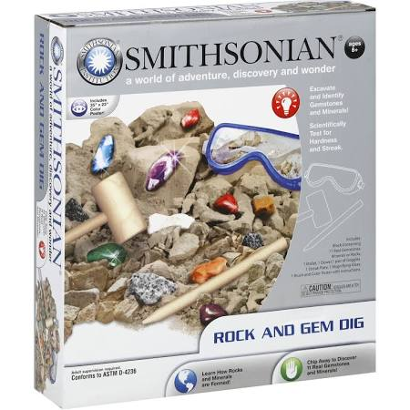 Smithsonian Rock and Gem Dig Kit