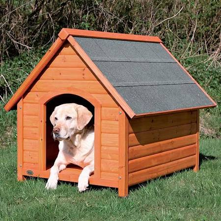 TRIXIE Log Cabin Dog House Large