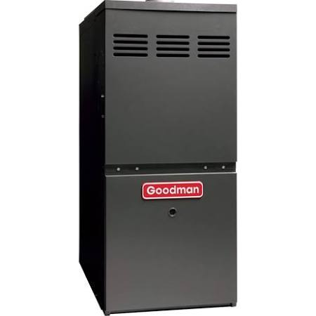 Goodman 80 100000 BTU Single Stage Up/Horizontal