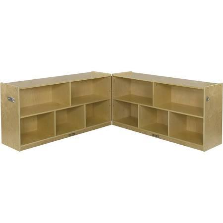 ECR4Kids ELR-0422 Birch Fold Lock Cabinet