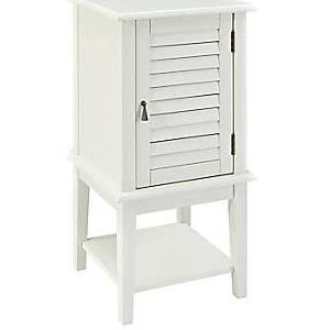 White Shutter Door Table - Powell - 929-352