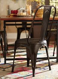 Homelegance Amara Rustic Metal Chair -