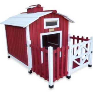 Advantek The Country Barn Dog House Color