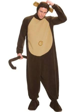 Adult Monkey Costume T366867