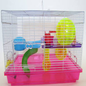 YML Pink Large Hamster Cage 18