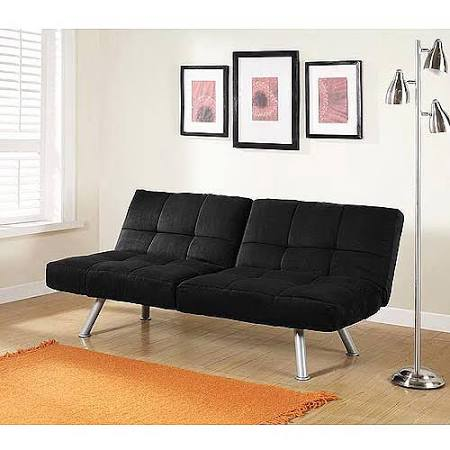 Mainstays Contempo Futon Sofa bed Multiple