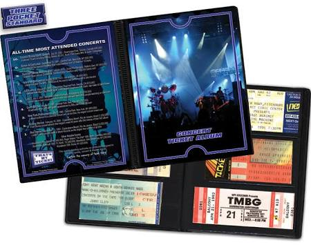 Thats My Ticket Concert Ticket Album -