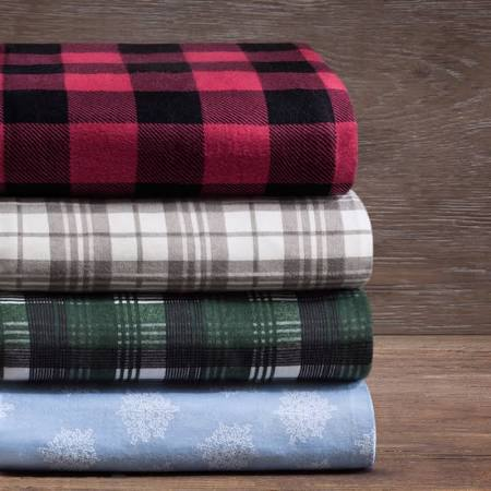Woolrich Flannel 160gsm Sheet Set - Blue