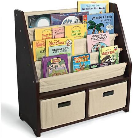WonkaWoo Children's Deluxe Sling Bookshelf