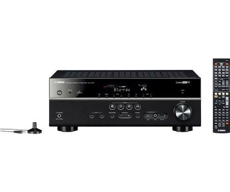 Yamaha RX-V475 AV network receiver - Black