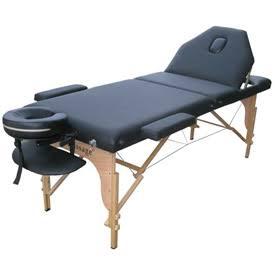 Black Portable Reiki Massage Table Tattoo