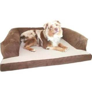 Hidden Valley Beasleys Couch Dog Bed Poly-Suede