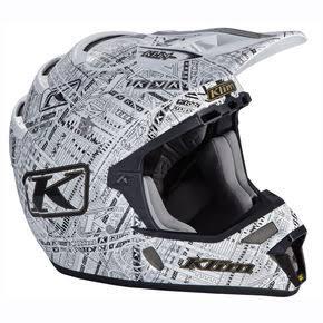 Klim Stealth White F4 ECE Certified Helmet