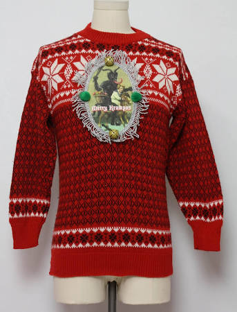 Men's Krampus Ugly Christmas Sweaters