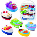 Toy Game Elegant Baby Bath Squirtie Toys Boats With Cruise Ship Air