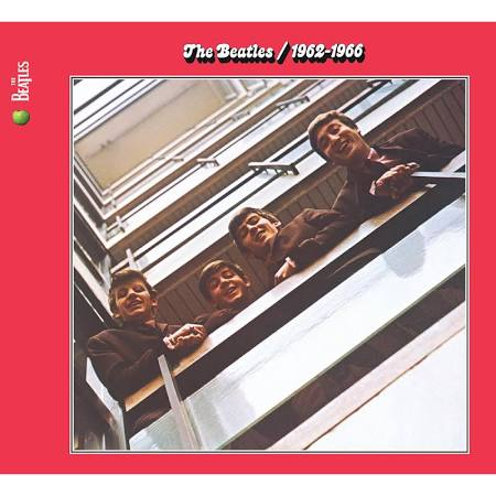 The Beatles Red 1962-1966 2 Disc CD