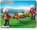 PLAYMOBIL 5430 Rescatador de Montaña con Camilla
