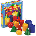 Learning Resources Large Geometric Shapes, Grades K and Up