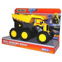Matchbox Construction Vehicle Buddy - Real Working Rocky with Removable Junks Motion Sensor Light and Sounds Dimension 9-1/2 x 5 x 6